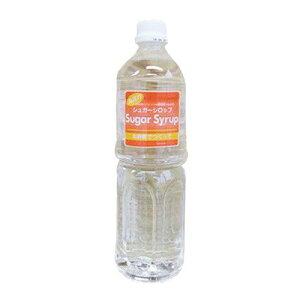 お砂糖で作った 馬印の シュガーシロップ 1L1000ml 4904007006033 中日本氷糖 株式会社 ガムシロップ 加糖 微糖 ペットボトル シロップ ポーション リキッド レギュラー シュガー ボトル カフ