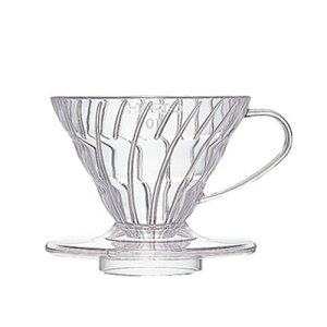 HARIO V60 透過ドリッパー 01 クリア VD-01T【1-2杯用】 ?コーヒー用品 コーヒードリッパー ドリップコーヒー ドリップ珈琲 フィルター ドリッパー コーヒー 珈琲豆 ハリオ アウトドア おしゃれ