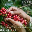 【500g×3パック】スペシャルティコーヒーを識るセット【コーヒー コーヒー豆】