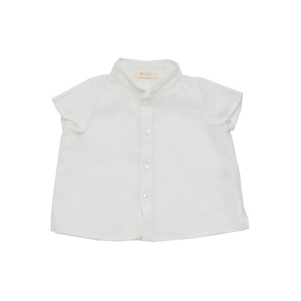 cofucu ヘンプ麻の襟付き シャツ |コフク 日本製 ベビー服 敏感肌 出産祝い 内祝い 自然素材 出産 ギフト プレゼント オーガニック エシカル ファクトリーブランド