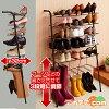 ◆! Standing seat slim shoe rack space saving door height adjustable and can hold up to 18 feet [for] national rail put slim compact rack shoes shoes shoes box shoe box storage door mansion usque
