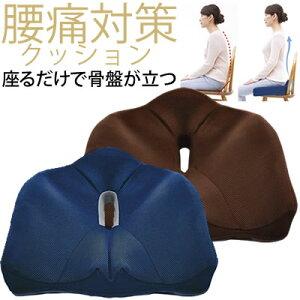 長時間座っても疲れにくい。腰周りを包むようにフィット ◆腰痛対策クッション[コジット] 竹炭配合低反発ウレタン使用と蒸れにくいメッシュ生地。カバーは洗濯OK 正しい姿勢 骨盤クッシ
