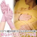 【メール便】就寝時に着用するだけ、なめらかハンドケア ◆寝ながらスキンケア手袋[コジット]スクアラン配合の手袋で…