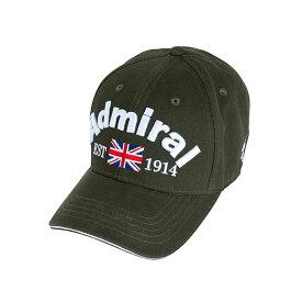 アドミラルゴルフ FUZZY ツイルキャップ 帽子 CAP UNISEX ゴルフ メンズ レディース 男性 女性 Admiral Golf 2019秋冬