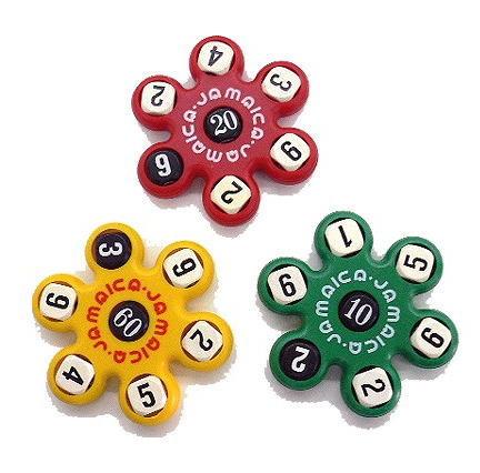 サイコロ計算ゲーム「ジャマイカ」 脳のトレーニング【メール便で送料無料】
