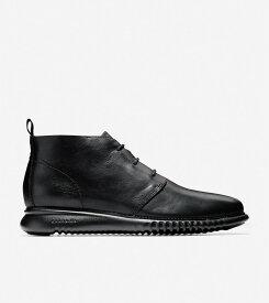 コールハーン Colehaan メンズ シューズ ブーツ & チャッカ 2.ゼログランド チャッカ mens C26198 ブラック / ブラック