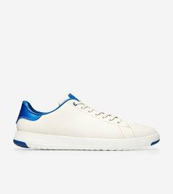 コールハーン Colehaan メンズ シューズ スニーカー グランドプロテニス mens C30917 バーチ / オプティック ホワイト / トゥルー ブルー