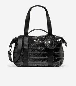 コールハーン Colehaan ウイメンズ バッグ & アクセサリー バッグ キルテッド ナイロン ダッフル womens U04801 ブラック