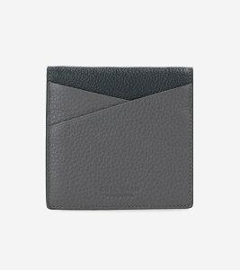 コールハーン Colehaan メンズ バッグ & アクセサリー 財布 カラーブロック フォールテッド カード ケース mens F11899 グレー / ブラック