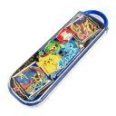【ポケットモンスター 20】【特価】スライド式 箸&スプーンコンビセット (CCA1) 497230【食洗機対応】