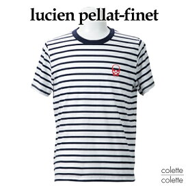 【SALE】ルシアンペラフィネ ( lucien pellat-finet ) ルシアンペラフィネメンズTシャツ 【正規代理店品】 スカルワンパックTシャツ (2枚一組Tシャツ) LUCIEN PELLAT−FINET ( ルシアン ペラフィネ ) Tシャツ スカル