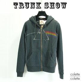 トランクショーTRUNK SHOW (トランクショー )レディース パーカー ピンクフロイド □ レディース ジップアップパーカー Pink Floyd ( ピンクフロイド ) TRUNK SHOW ( トランクショー ) ピンクフロイド