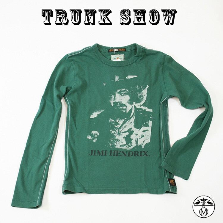 トランクショーTRUNK SHOW ( トランクショー ) キッズ ■ Tシャツ Jimi Hendrix ( ジミ・ヘンドリックス ) TRUNK SHOW ( トランクショー )