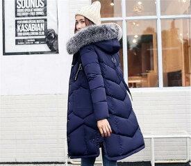 コート レディース ダウンコート レディース ダウン風コート Aライン キルティングコート 中綿 パーカーコート ロング 冬