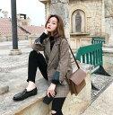 グレンチェックジャケット ビッグシルエット テーラードジャケット 韓国ファッション レディース チェック柄 アウター…