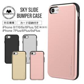 iPhoneケース i Jelly metal TPU ソフトケース | スマホケース iPhone8Plus iphone7plus プラス iPhone7 iPhone6 iPhone6s iPhone8 iPhoneSE 第2世代 アイフォンSE 第二世代 アイフォンケース スマホカバー 携帯カバー 携帯ケース カード収納 icカード シンプル おしゃれ