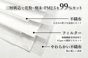日本の品質マスク(50枚入り)