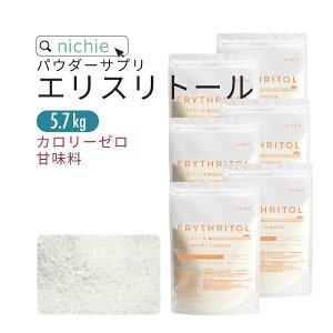 エリスリトール 3.8kg 希少糖 カロリーゼロ 甘味料 で 砂糖 を置き換え 糖質制限 が気になる方にもおすすめの ゼロカロリー 食品 P10 nichie ニチエー