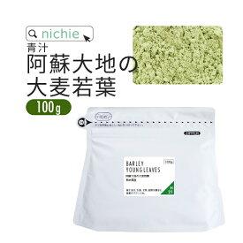 青汁 大麦若葉 大麦若葉青汁 国産 100g 熊本県産 新鮮な 大麦若葉 をすぐ加工し 粉末 にした 無添加 青汁 nichie ニチエー