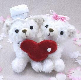 ウェルカムドール ウェディングベアCOBEウェディングセット お座り結婚祝い 贈り物 コービーあす楽対応 即日発送可