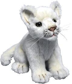 ハンサ【HANSA】ぬいぐるみ仔ホワイトライオン26cmお行儀よくお座り ライオンの赤ちゃん