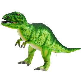 ハンサ【HANSA】ぬいぐるみティラノサウルス グリーン