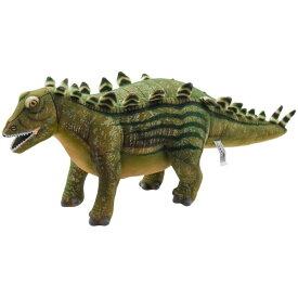 ハンサ【HANSA】ぬいぐるみステゴサウルス 背中の骨盤が特徴