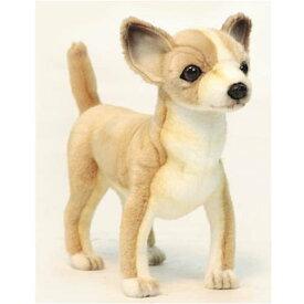 ハンサ【HANSA】ぬいぐるみチワワ27cm かわいい ワンちゃん いぬ 犬 わんこ ワンコ 茶色 ペット