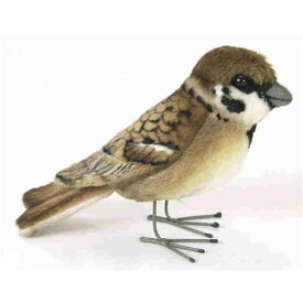 ハンサ【HANSA】ぬいぐるみスズメ10cm すずめ 雀 小鳥