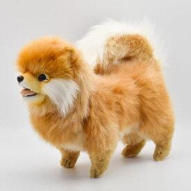 ハンサ【HANSA】ぬいぐるみポメラニアン39cm いぬ 犬 只今在庫切れ 次回入荷は4月の予定