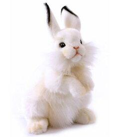 ハンサ【HANSA】ぬいぐるみ白うさぎ30cm ウサギ うさちゃん ラビット ホワイト