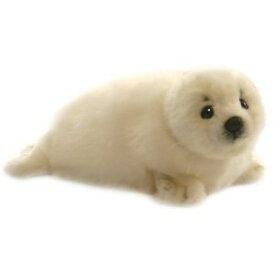 ハンサ【HANSA】ぬいぐるみ白いアザラシ29cm 海豹 あざらし赤ちゃん×ホワイトカラー 最強の天使っぷりに癒され度MAX