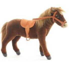 ハンサ【HANSA】ぬいぐるみ鞍つき馬37cm ウマ うま