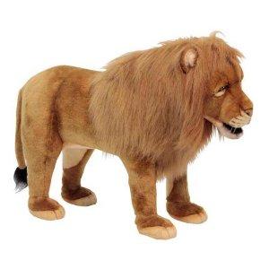 【HANSA】スツール ライオン