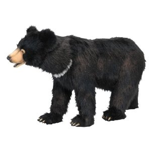 【HANSA】スツール 黒クマ