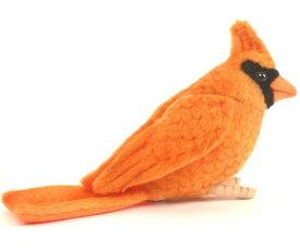 ハンサ【HANSA】ぬいぐるみオレンジショウジョウコウキンチョウ13cm