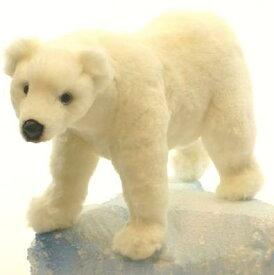ハンサ【HANSA】ぬいぐるみシロクマ34cm 北極ぐま ホッキョクグマ 白熊