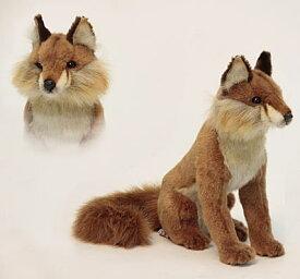 ハンサ【HANSA】ぬいぐるみアカギツネ30cm 狐 赤キツネ きつね