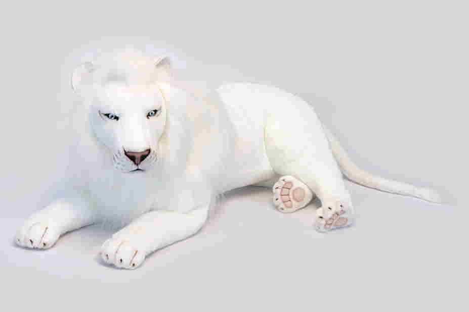 【HANSA】ぬいぐるみホワイトライオン100cm