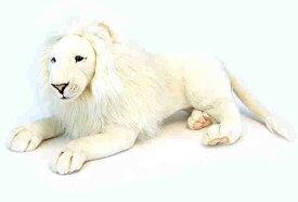 ハンサ【HANSA】ぬいぐるみホワイトライオン65cm