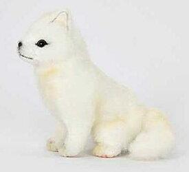 ハンサ【HANSA】ぬいぐるみホッキョクギツネ17cm 北極狐 きつね