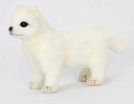 ハンサ【HANSA】ぬいぐるみ仔白キツネ20cm ホッキョクギツネ きつね 白い狐