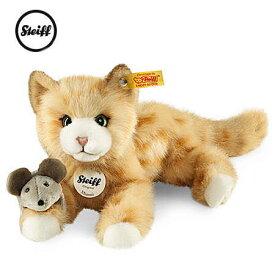 【シュタイフ正規販売店】Steiff シュタイフ 定番商品 ネコのミミとマウス(New)