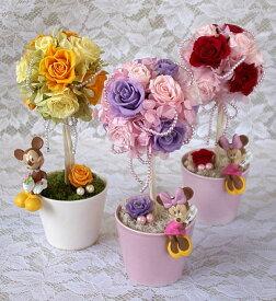 プリザーブドフラワーディズニーキャラクターアレンジ敬老の日 誕生日祝い結婚祝い 贈り物