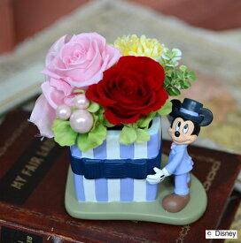 プリザーブドフラワーディズニーキャラクターアレンジミッキー・ミニー・ドナルド三種敬老の日 誕生日祝い結婚祝い 贈り物