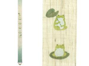 京都洛柿庵手描き細タペストリー福を六かえる