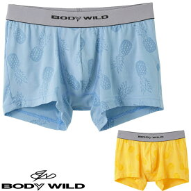 BWE077J ボディワイルド ボクサーパンツ メンズ グンゼ 男性下着 アンダーウェア ボクサーブリーフ インナー BODY WILD (03026)