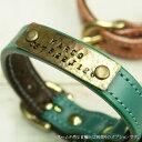 犬 首輪 迷子札 真鍮 製 ネームタグ(迷子札)★ご注意:首輪とは別売りの取付オプションです。