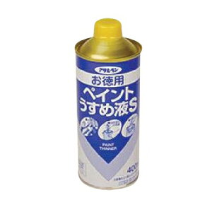 アサヒペン 徳用 ペイントうすめ液 [220ml] アサヒペン・塗料用シンナー・希釈・油性