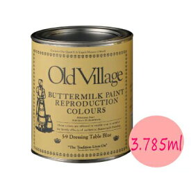 【送料無料】 バターミルクペイント [3785ml] ButterMiLkPaint・最高級・自然塗料・建物・壁面・窓枠木部・家具・工芸品